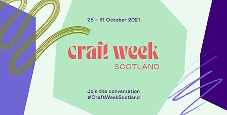 Craft Week Scotland banner 450px
