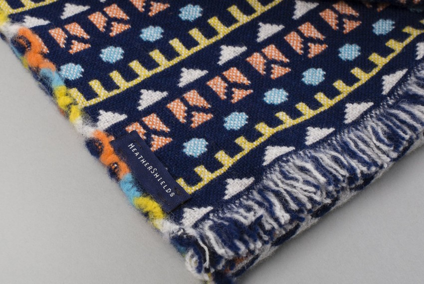 Shop Heather Shields - Woven Toybox Scarf Close Up