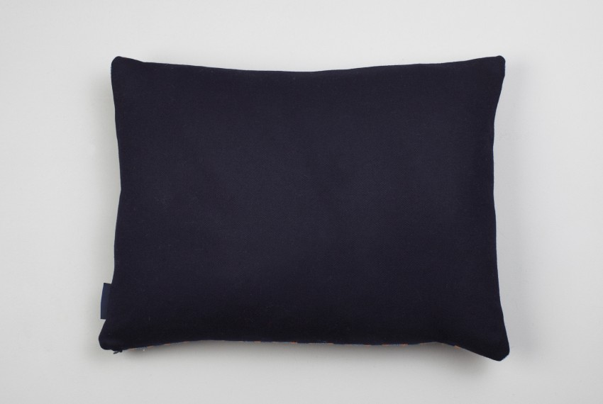 Shop Heather Shields - Woven Mono Cushion Reverse