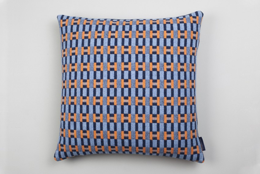 Shop Heather Shields - Puzzlechain Cushion Front