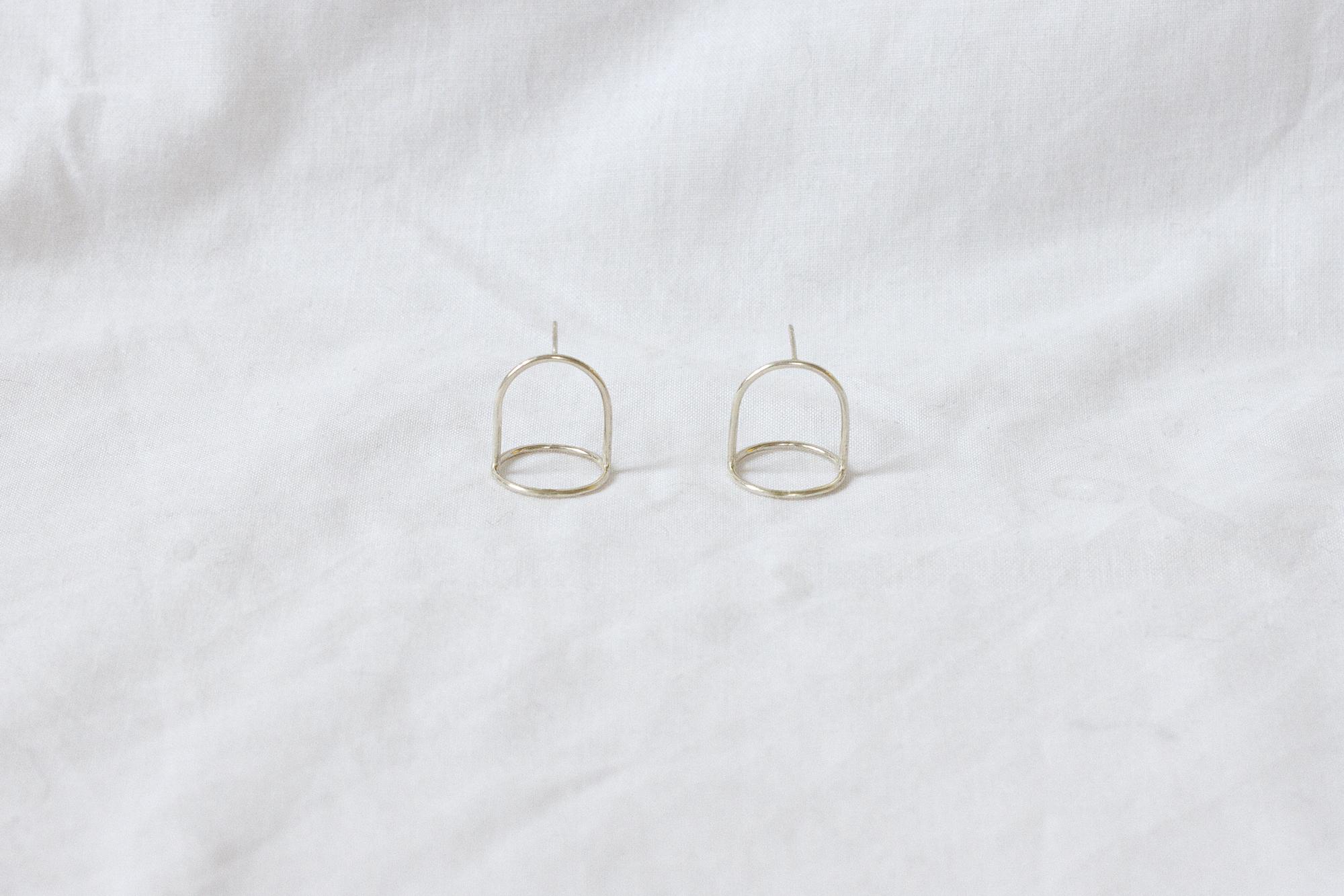 Mini Bell Jar earrings