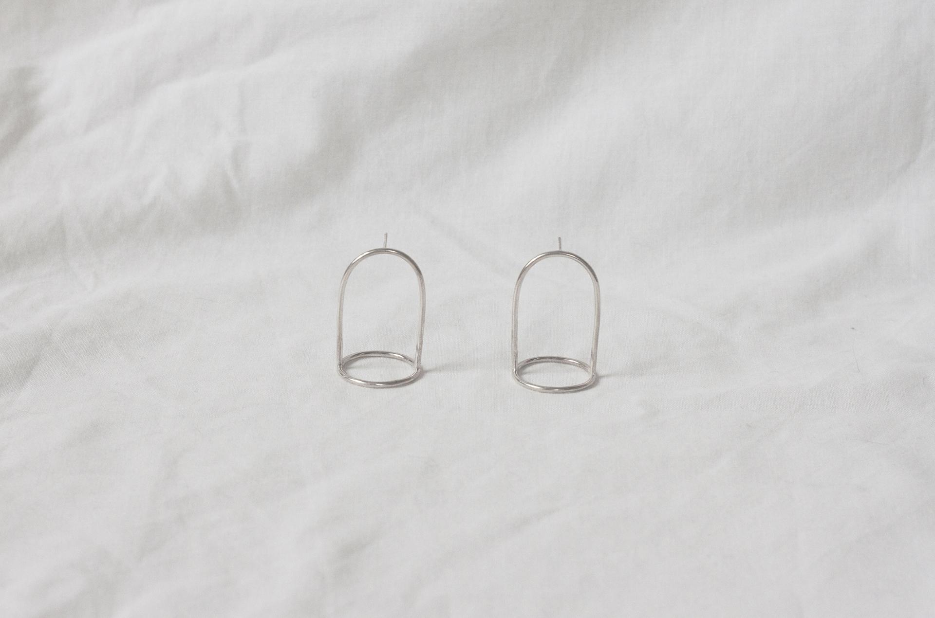 Ruth Leslie Bell Jar Earrings large