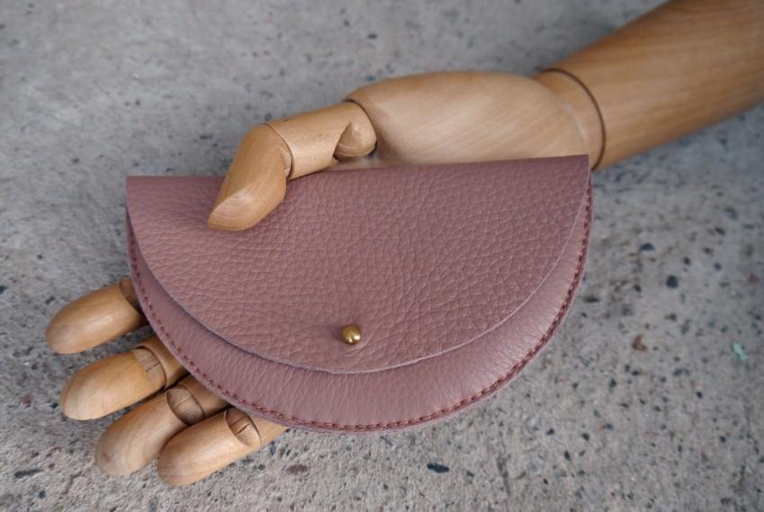 Jude Gove Colette Grande Coin Purse Blush Pink