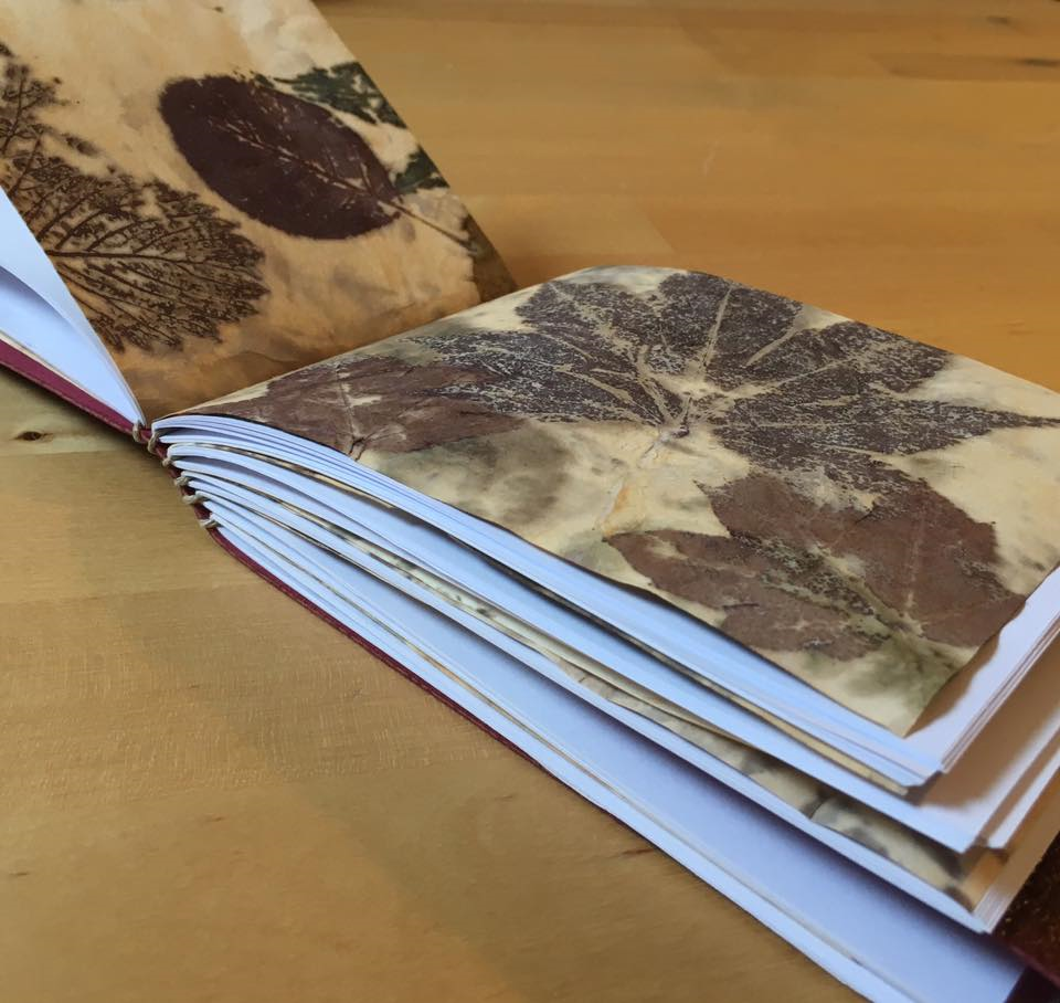 Learn a Craft at the Botanic Cottage: Handmade Books