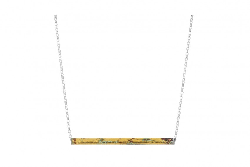 Scarlett Cohen French Posh Pipes Pendant silver chain