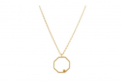 Scarlett Cohen French Octagon Pendant
