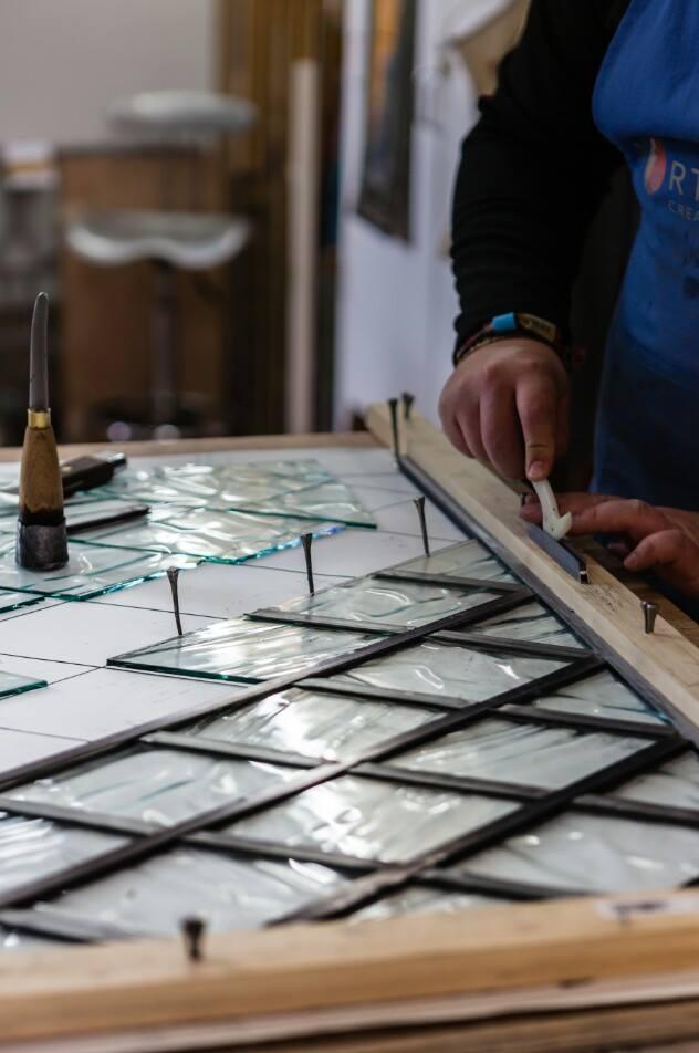 Make a lead glass panel Image #0