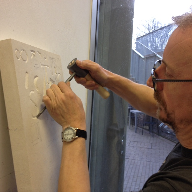 Five-Week Stone Letter Carving Course