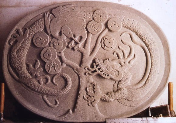 Course stone relief carving craft scotland