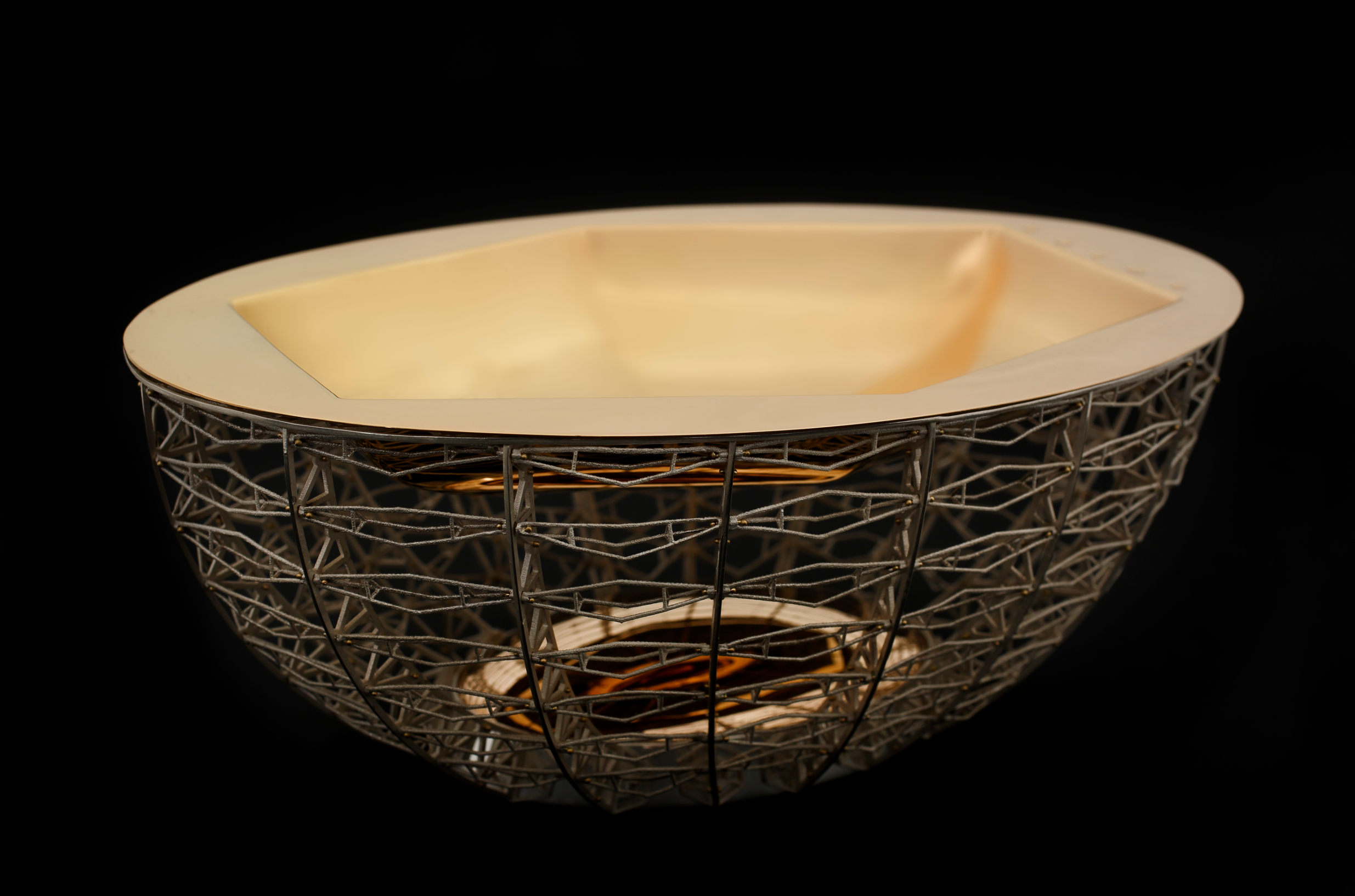 Infinity Oval Bowl