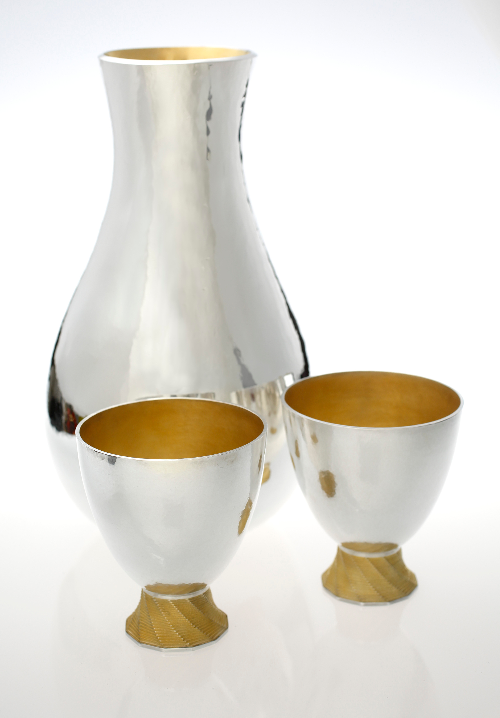 Oval Carafe & Time Lapse Beakers