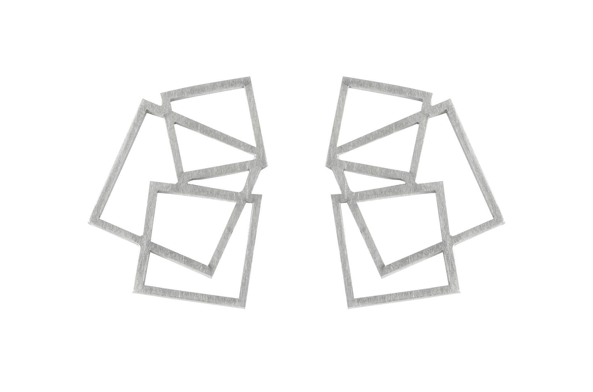 Square Disarray Studs