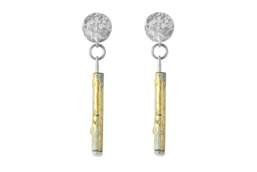 Scarlett Cohen French Posh Pipes Drop Earrings