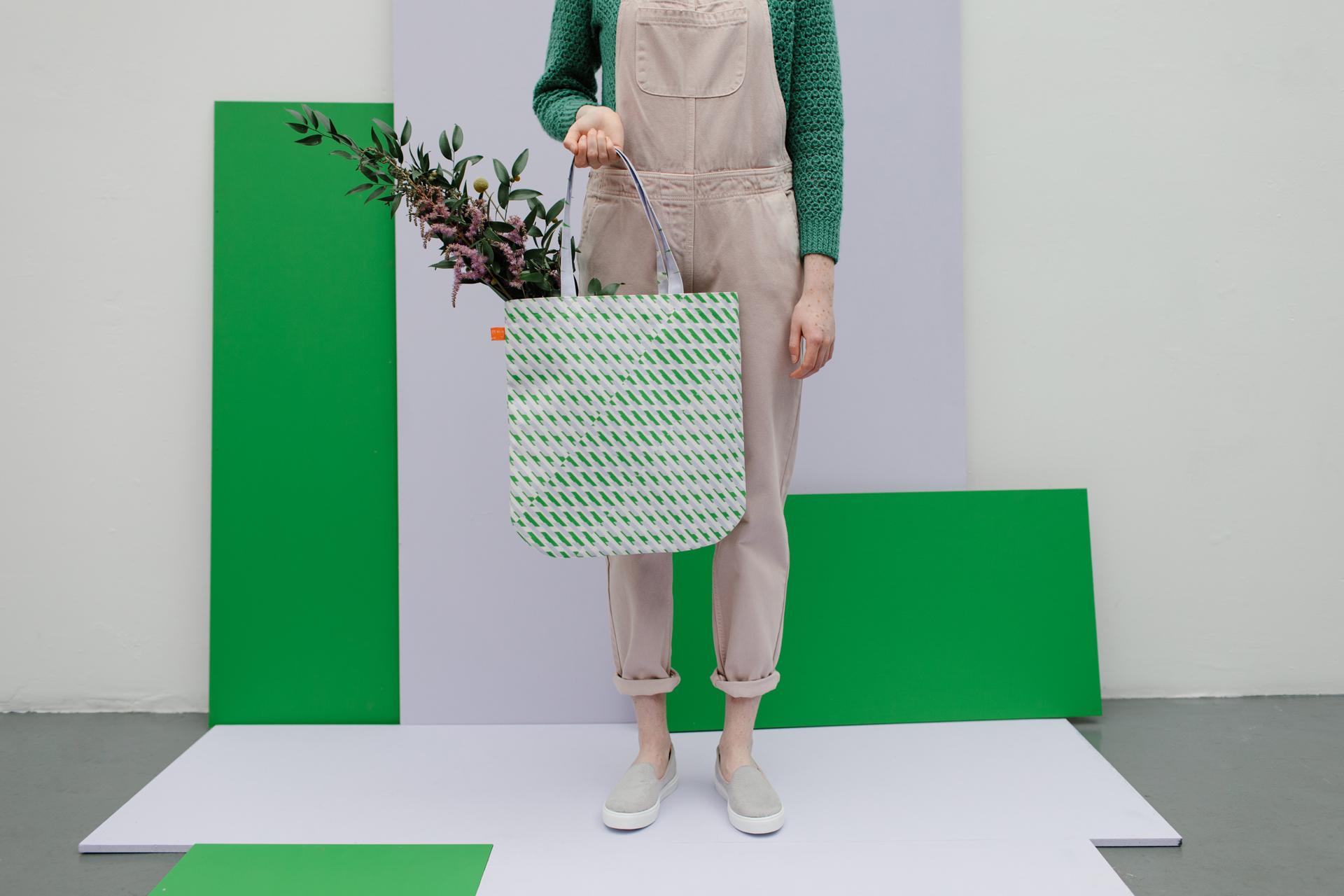 Conceal Print Tote Bag