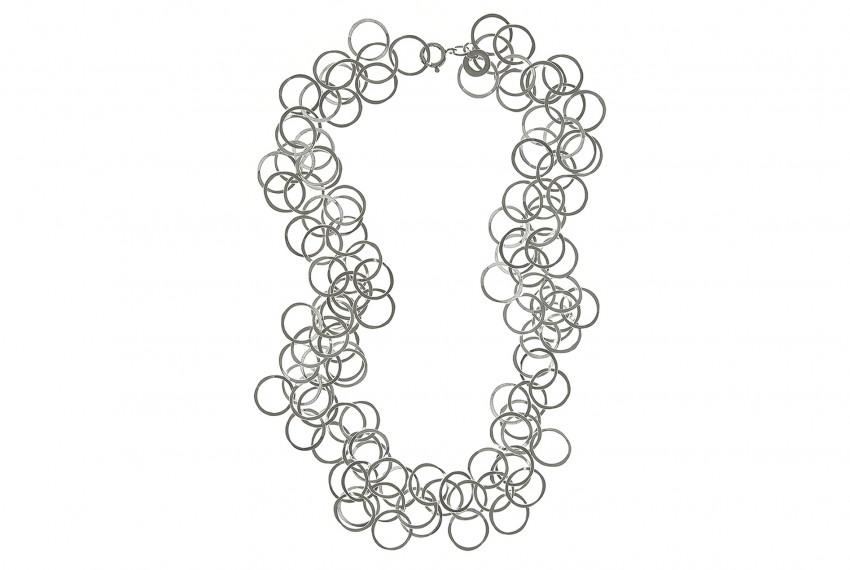 Joanne Thompson Bay Necklace Silver