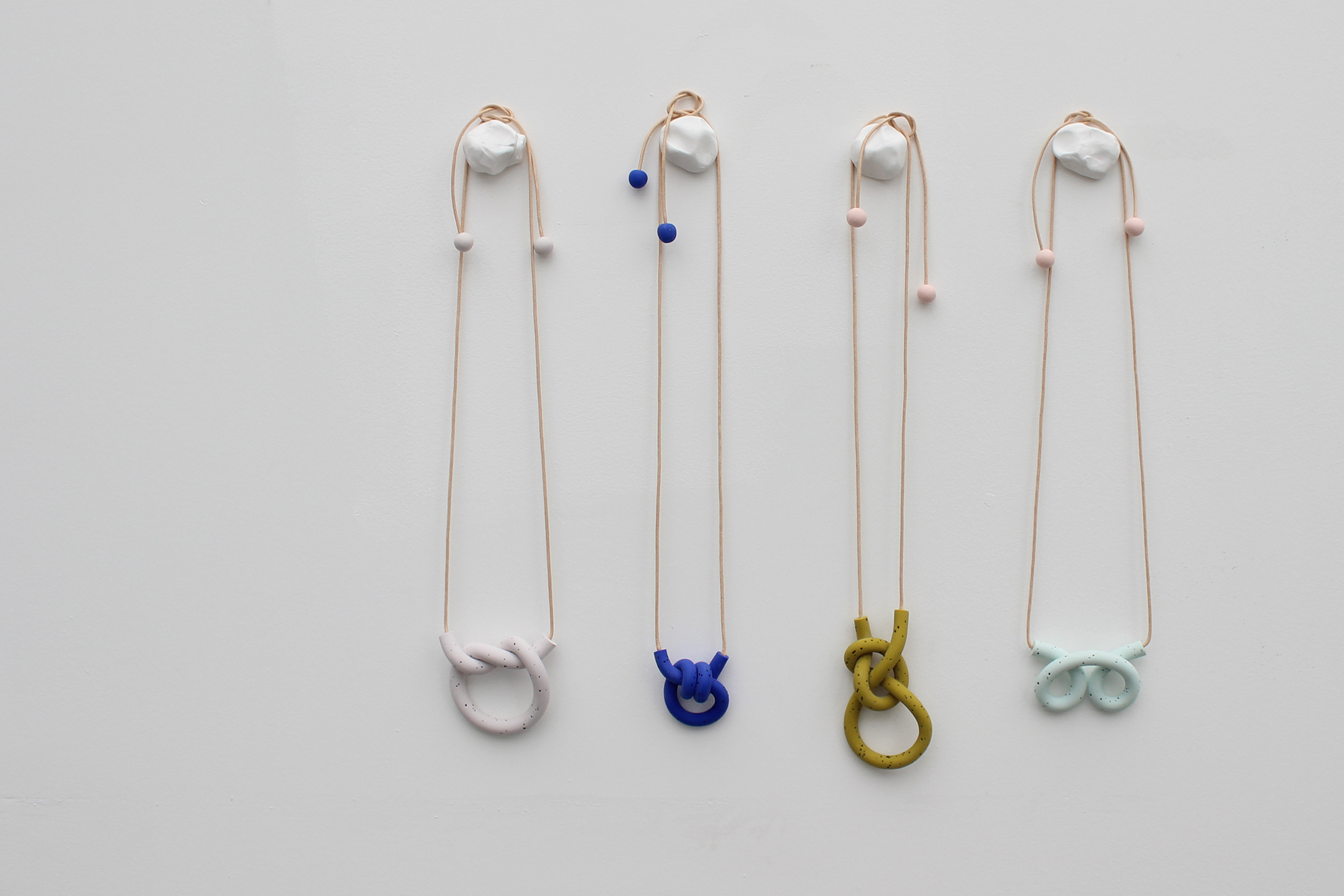 Knot necklaces