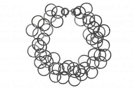 Joanne Thompson Bay Bracelet Oxidised Silver