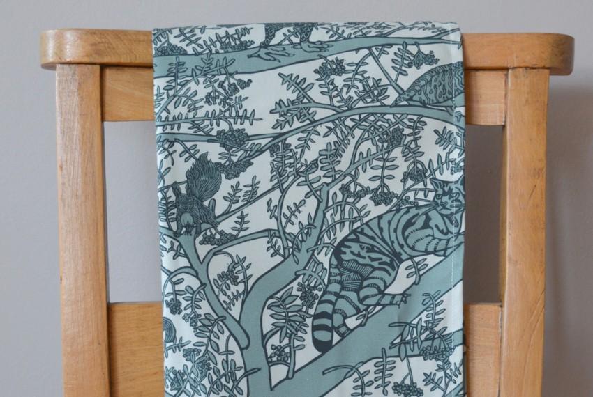 Little Axe Endangered Animals Tea Towel