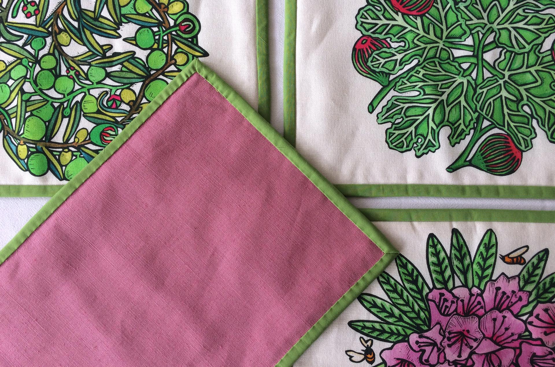 Textile Place Mats