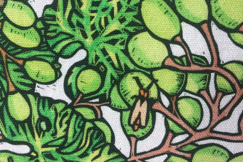 Little Axe Grapes Textile Place Mat