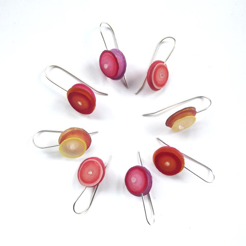 Simple Layered Earrings