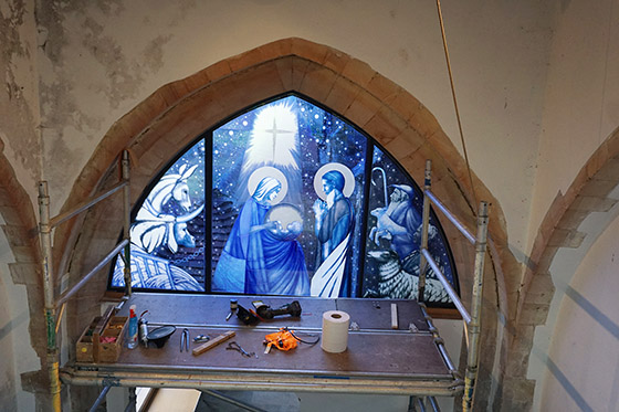 Nativity Window (installation)
