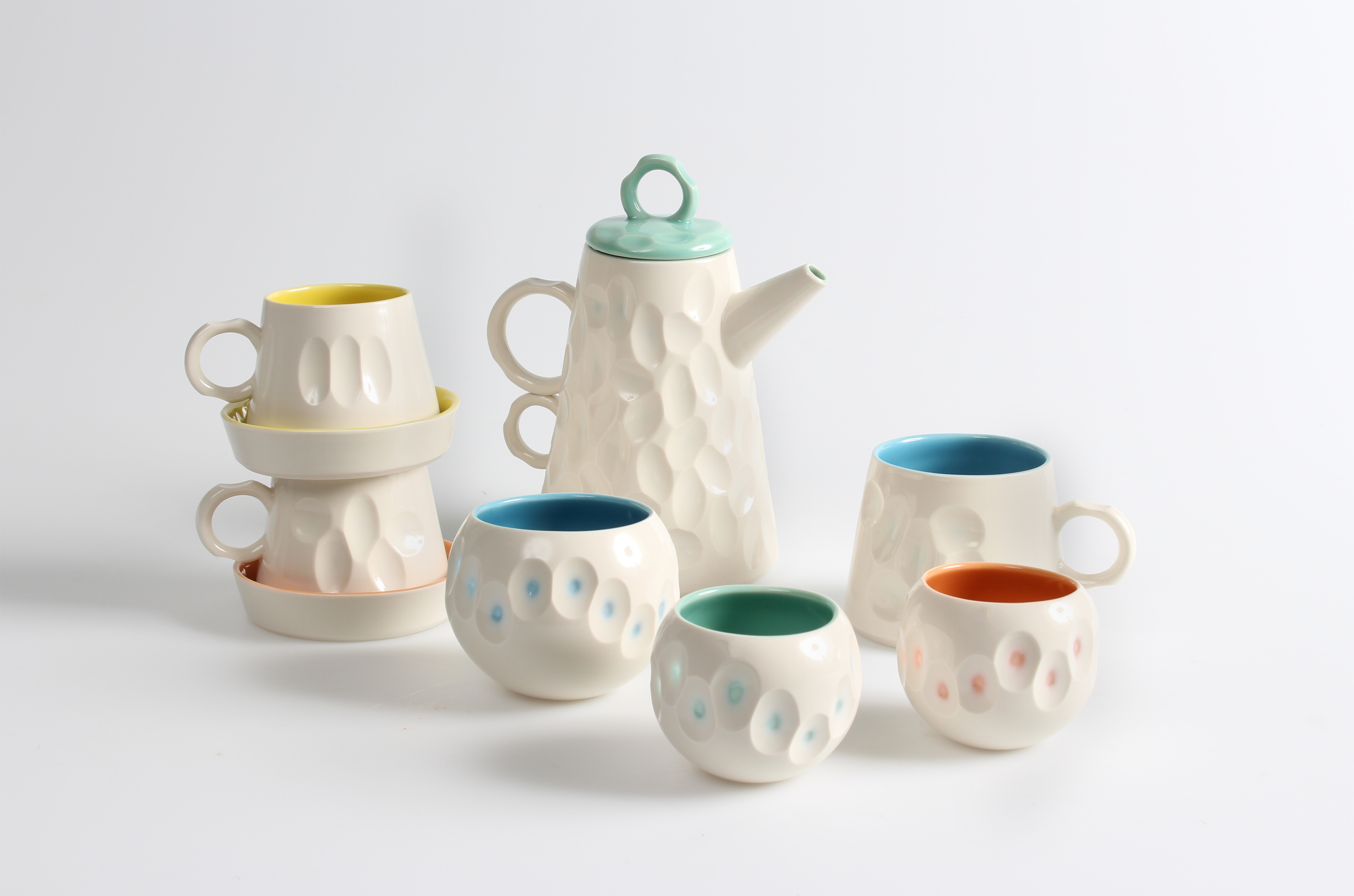 Battuto Porcelain Tableware