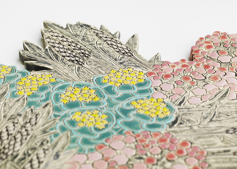 patterns of Flora | Mapping Seven Raasay Habitats - Coast (detail)