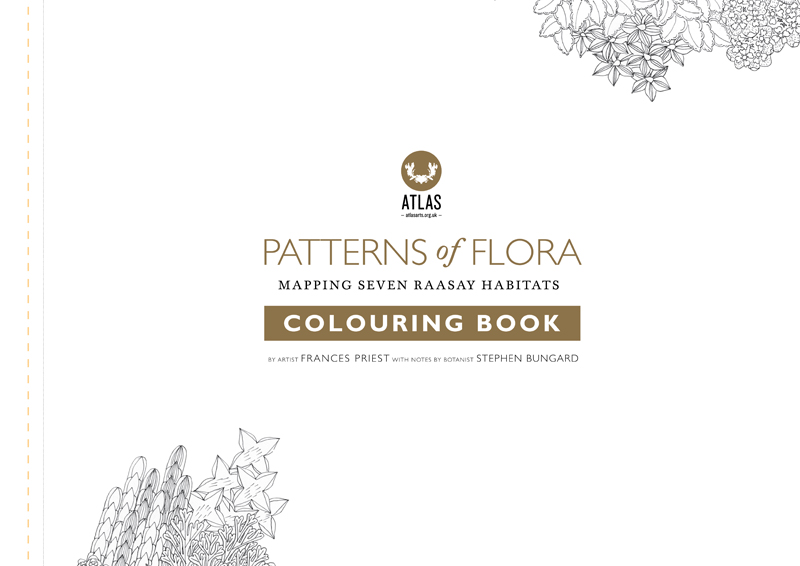 Atlas Edition: Patterns of Flora | Mapping Seven Raasay Habitats -  Colouring Book