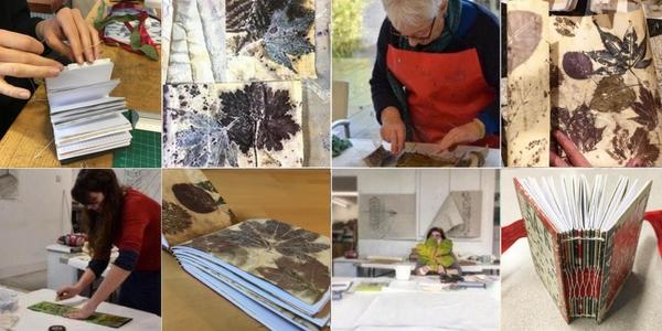 Bookbinding & Eco-printing