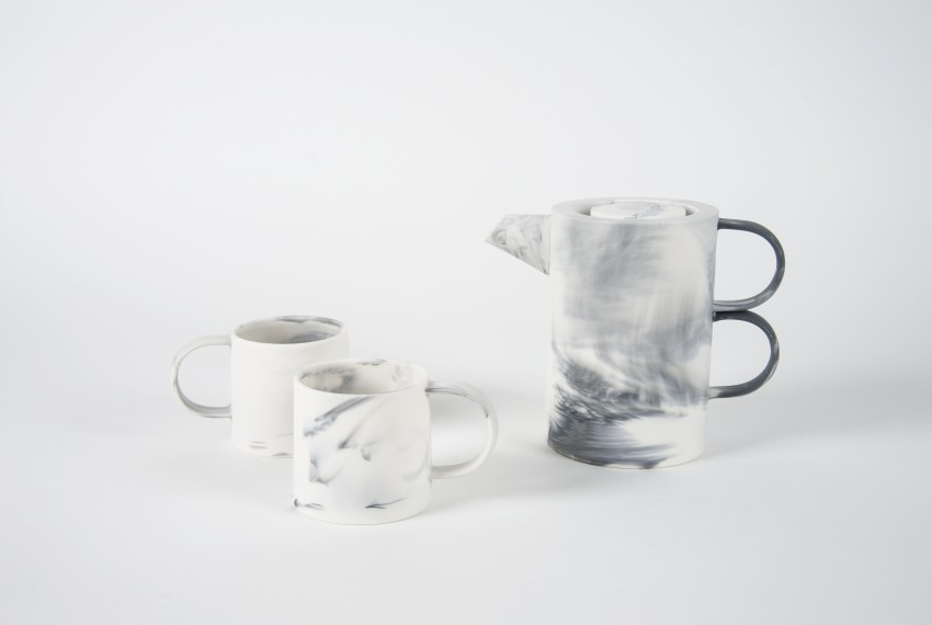 Myer Halliday Espresso Cup with coffee pot