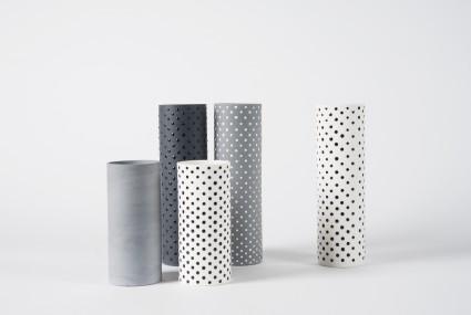 Myer Halliday Cylinder Vase