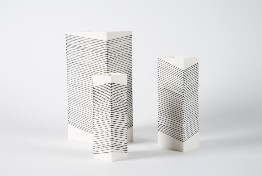 Myer Halliday Wrap Square Vase